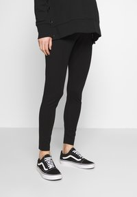 Cotton On - MATERNITY PONTE PANT - Leggings - black - 0