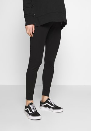 MATERNITY PONTE PANT - Legging - black