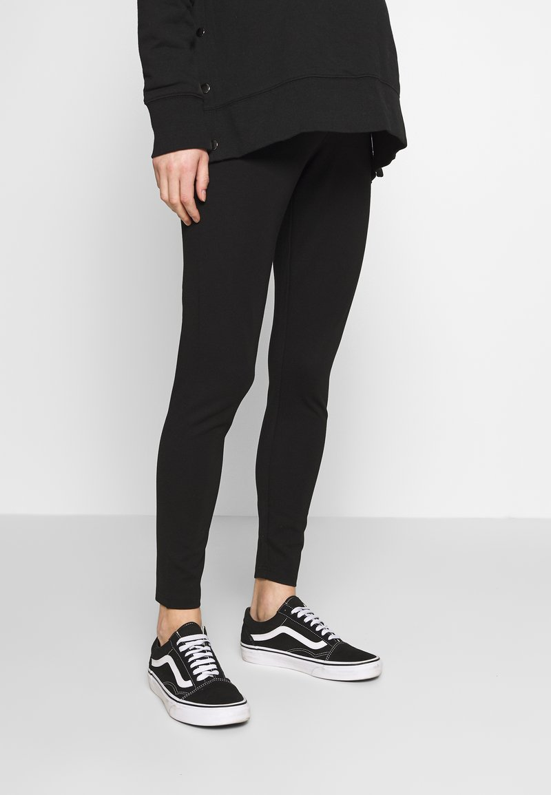 Cotton On - MATERNITY PONTE PANT - Leggings - black
