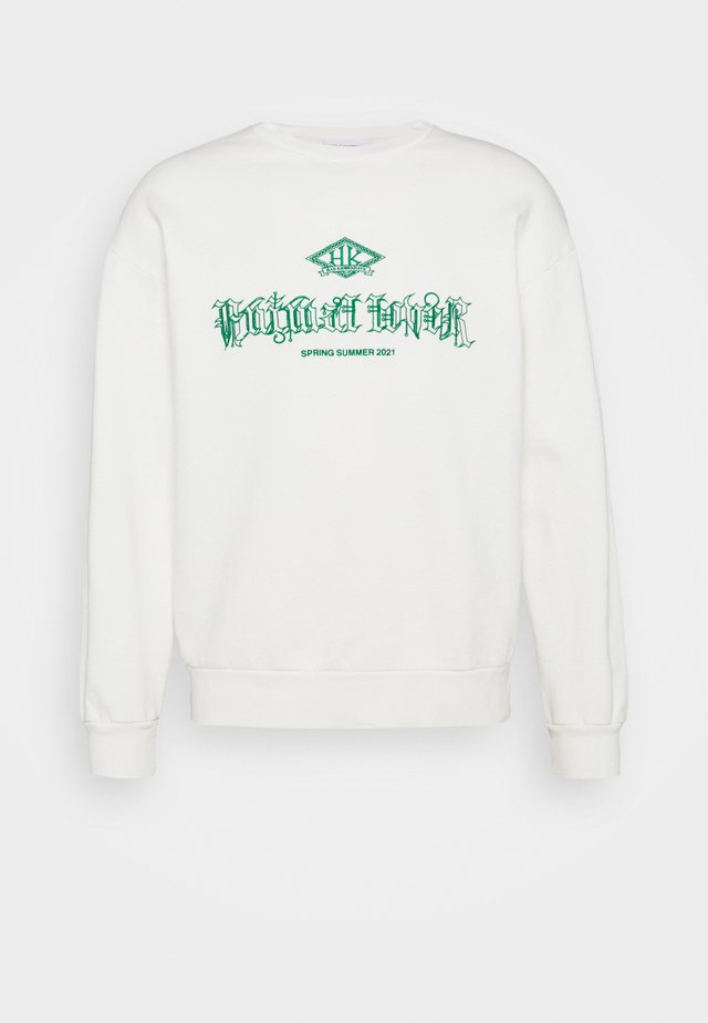 ARTWORK CREW - Sweatshirt - off white