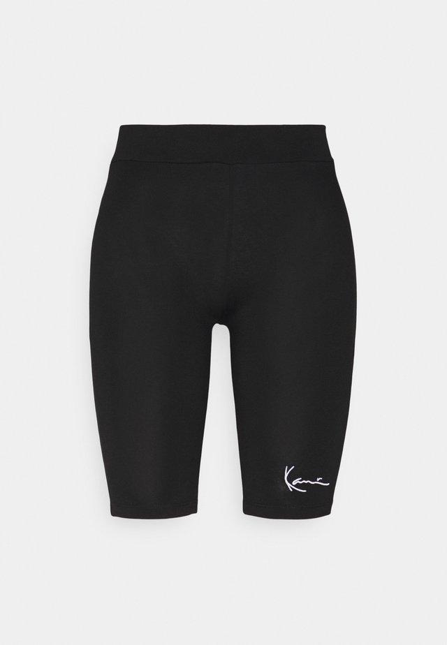 SMALL SIGNATURE CYCLING - Shorts - black