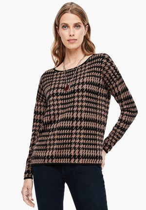 Jumper - brown check