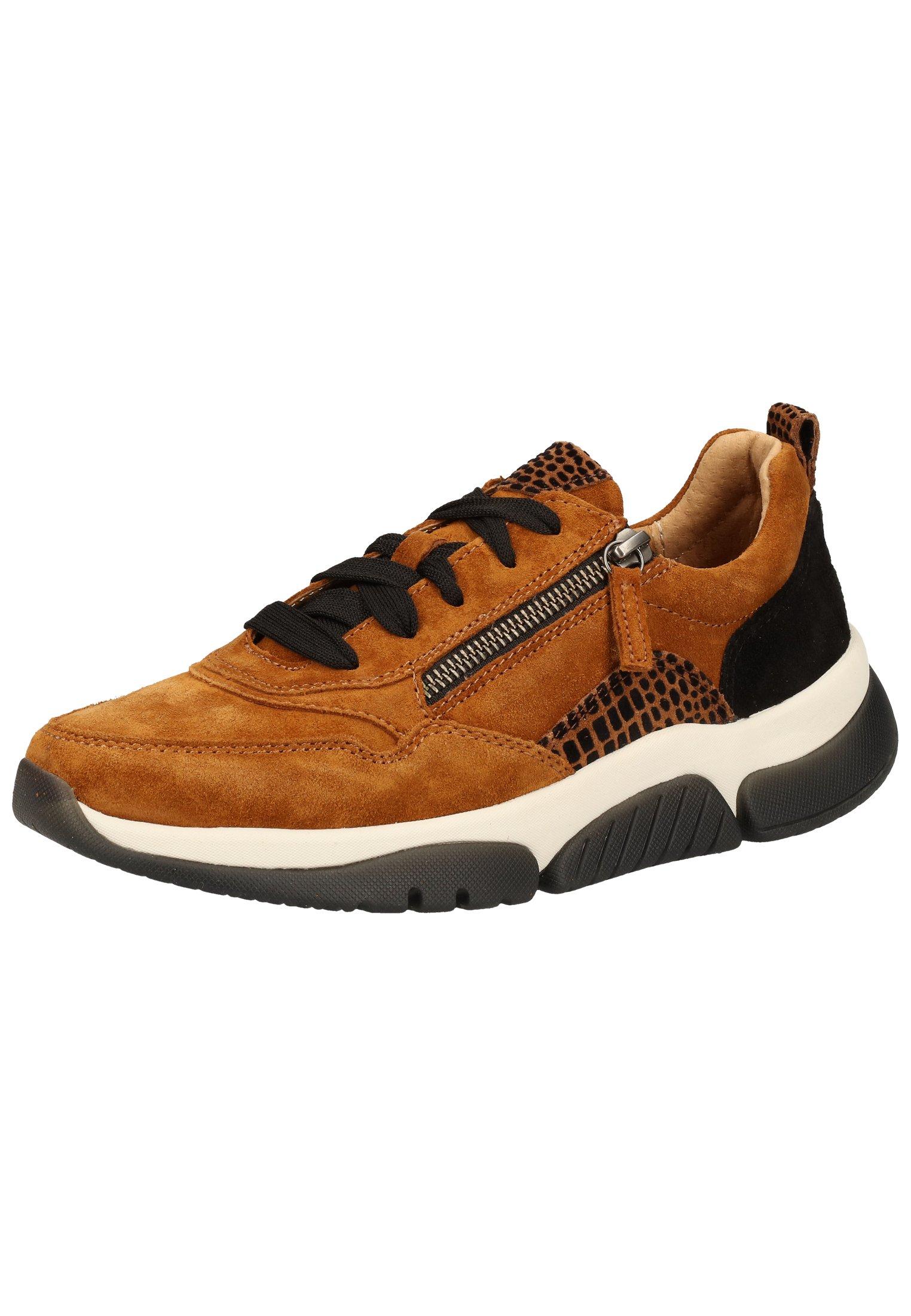 Gabor Sneaker low autumn/rostschwarz/hellbraun