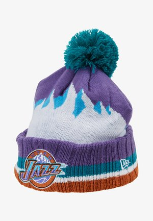 NBA UTAH JAZZ HARDWOOD CLASSICS NIGHTS SERIES CUFF - Beanie - purple