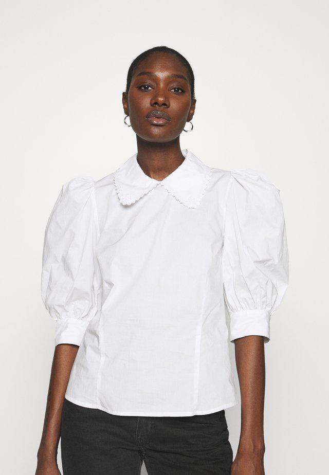 DUNYA - Camicetta - bright white