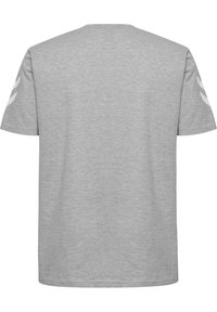 Hummel - HMLGO - Print T-shirt - grey melange - 1