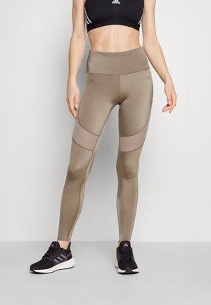 LEGGING SHINE - Legging - mineral grey