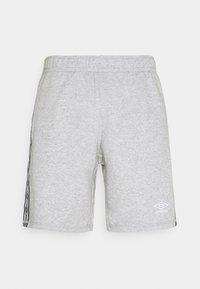 Umbro - TAPED SHORT LOOPBACK - Sports shorts - grey marl - 1