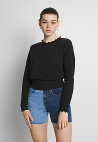 ONLY - ONLHAISLEY LIFE  - Sweatshirt - black - 0