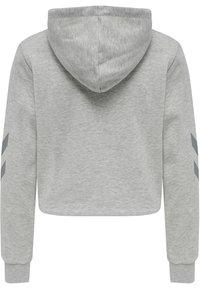 Hummel - Hættetrøjer - grey melange - 7