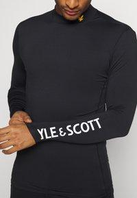 Lyle & Scott - Camiseta de manga larga - true black - 5