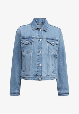 JEANS-JACKE IM OVERSIZE-LOOK - Jeansjakke - blue medium washed