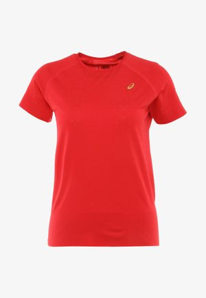 SEAMLESS TEXTURE - T-shirts med print - classic red