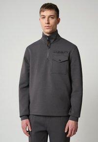 Napapijri - Sweatshirt - dark grey solid - 0