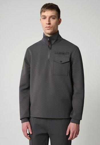 Sweatshirt - dark grey solid