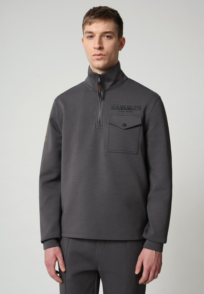 Napapijri - Sweatshirt - dark grey solid