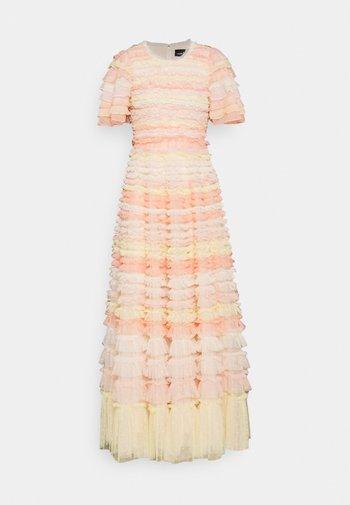 LUELLA RUFFLE GOWN - Maxi dress - sunset