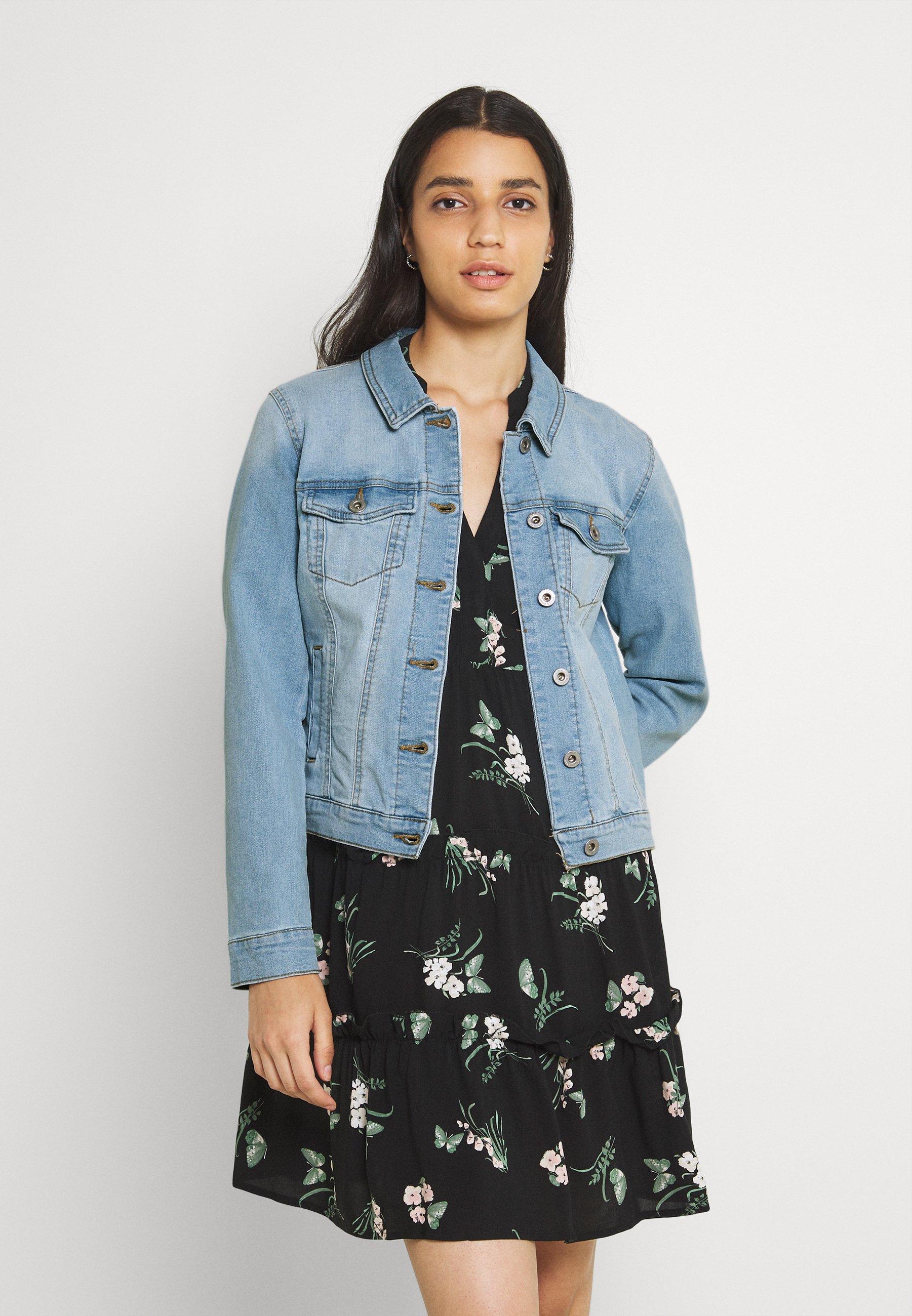 Women ONLDINA JACKET BOX - Denim jacket