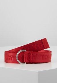 Tommy Hilfiger - KIDS BELT - Pásek - red - 0