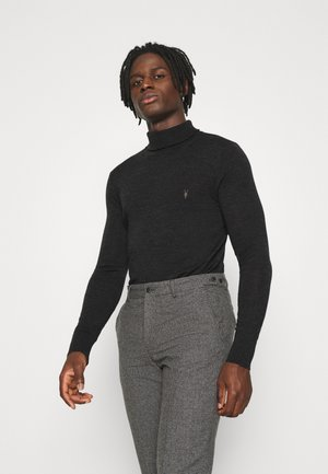 MODE ROLL NECK - Jumper - shadow grey marl