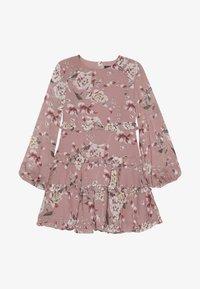 Bardot Junior - FLORAL FRILL DRESS - Freizeitkleid - rose - 3