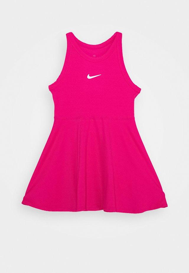 DRY DRESS - Robe de sport - vivid pink/white