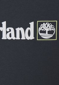 Timberland - SHORT SLEEVES TEE - Print T-shirt - medium grey - 2