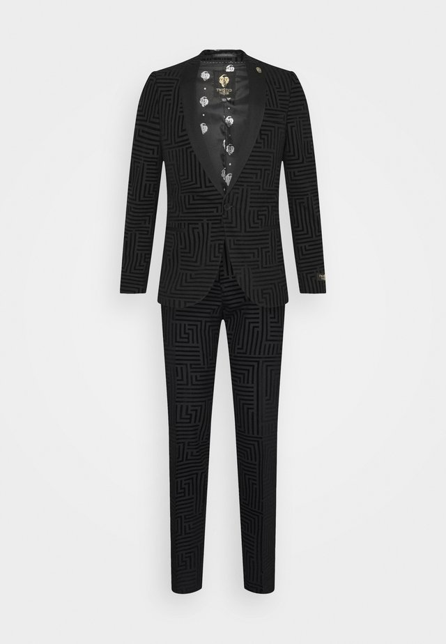 HORLEY SUIT - Completo - charcoal