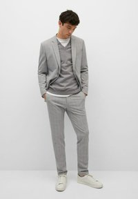Mango - Chino kalhoty - mittelgrau - 1