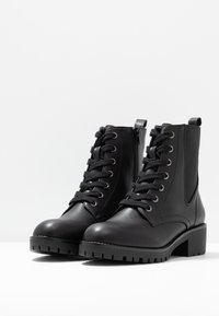 Anna Field - Bottines à lacets - black - 4