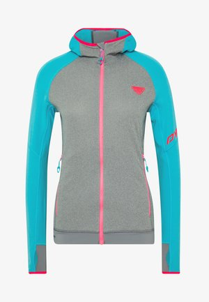 TRANSALPER THERMAL  HOODY - Fleece jacket - silvretta