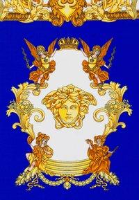 Versace - FOULARD UNISEX - Foulard - royal blue/oro - 4