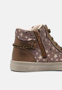 Friboo - Zapatillas altas - bronze - 6