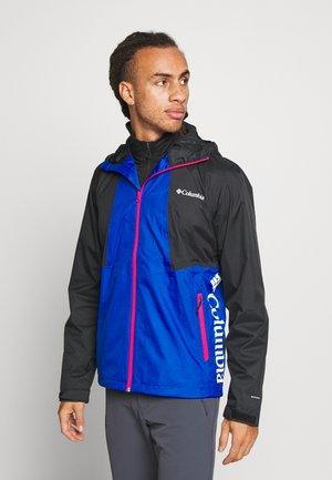 INNER LIMITS™ JACKET - Hardshell jacket - azul/black/cactus pink zips