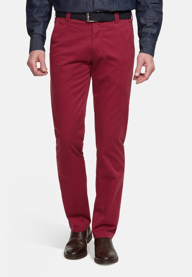 BONN - Chinos - dark red