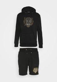CLOSURE London - TONAL FURY HOODY SET - Sweatshirt - black - 0