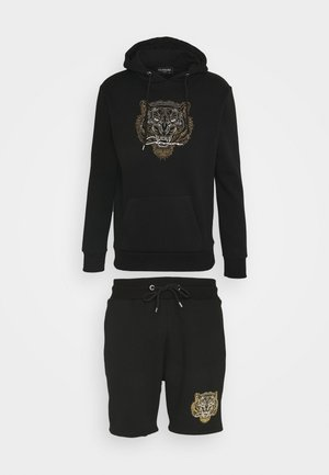 TONAL FURY HOODY SET - Sweater - black