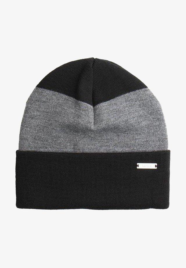 Beanie - black/grey
