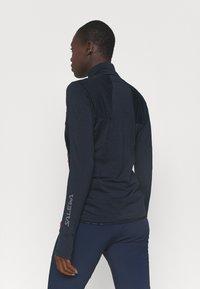 Salewa - PEDROC - Fleece jacket - navy blazer melange - 2