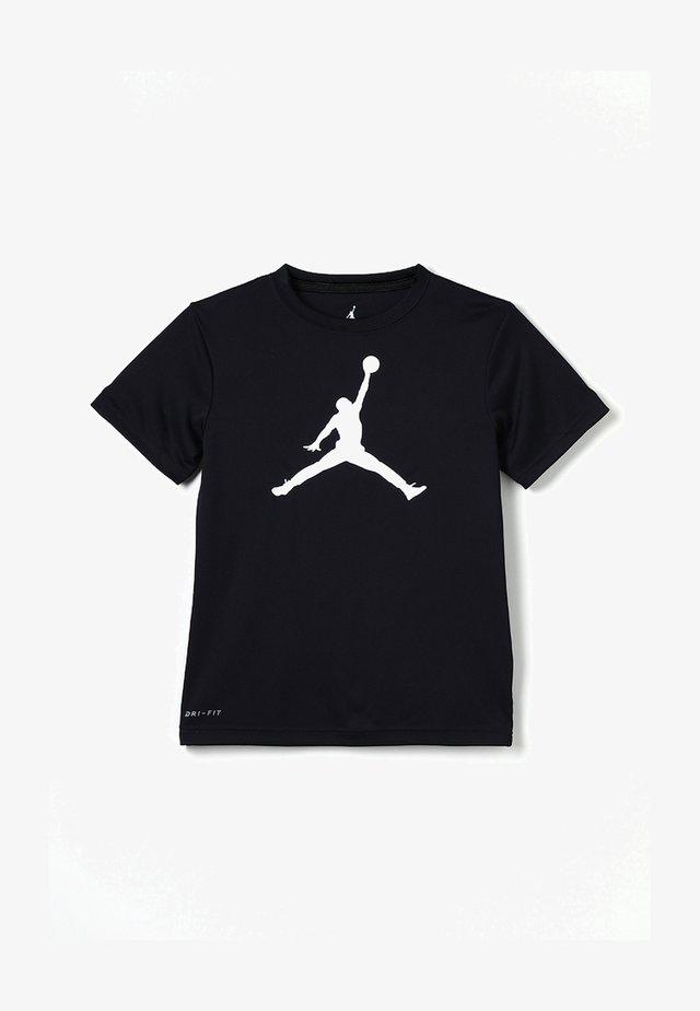 JUMPMAN LOGO - T-shirt con stampa - black