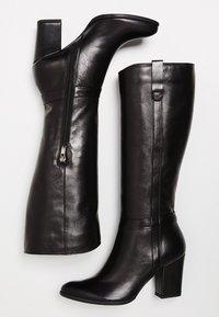 usha - Laarzen met hoge hak - black - 5