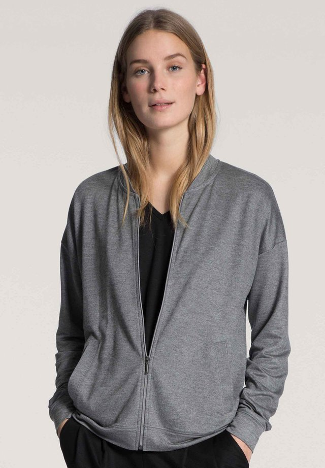 Cardigan - urban grey melé