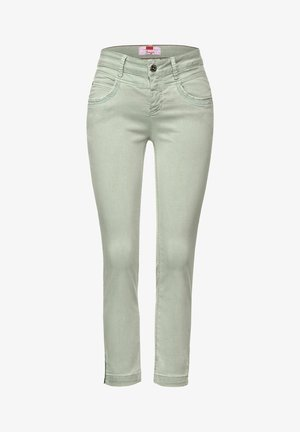 CASUAL FIT - Slim fit jeans - green