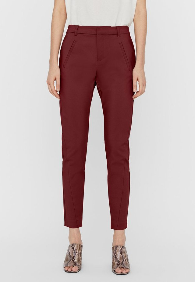 Trousers - cabernet