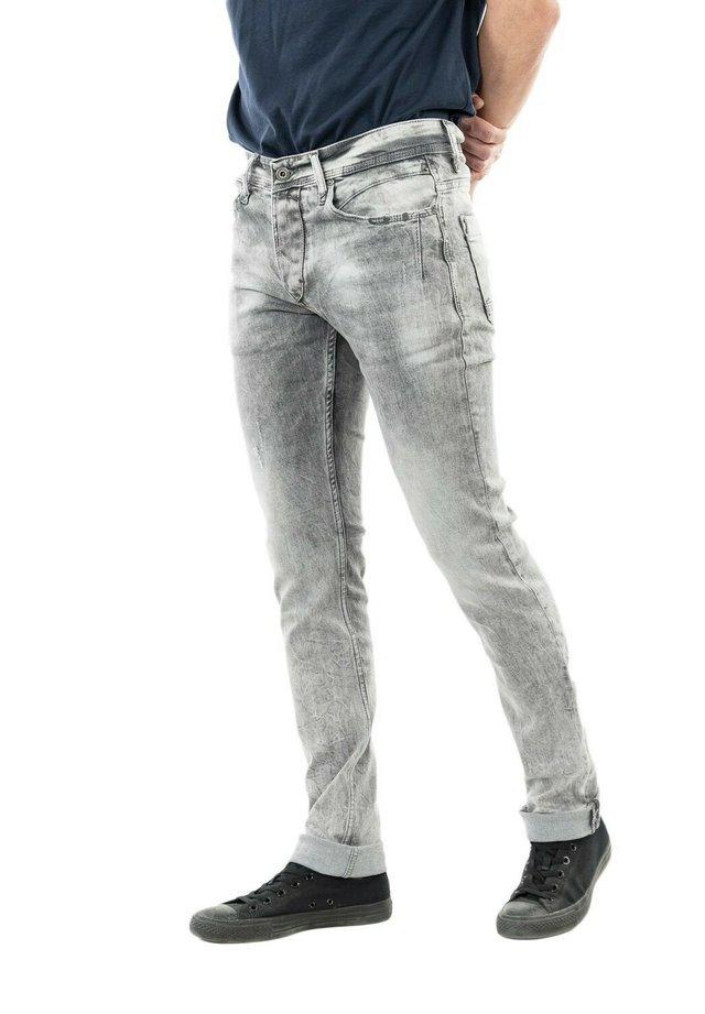 HAMPEA - Jean droit - gris