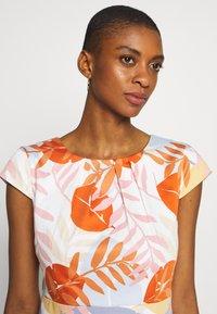 More & More - DRESS SHORT - Cocktail dress / Party dress - melon multicolor - 4