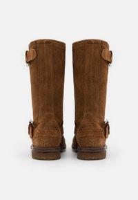 Shabbies Amsterdam - Cowboy/Biker boots - cognac - 3