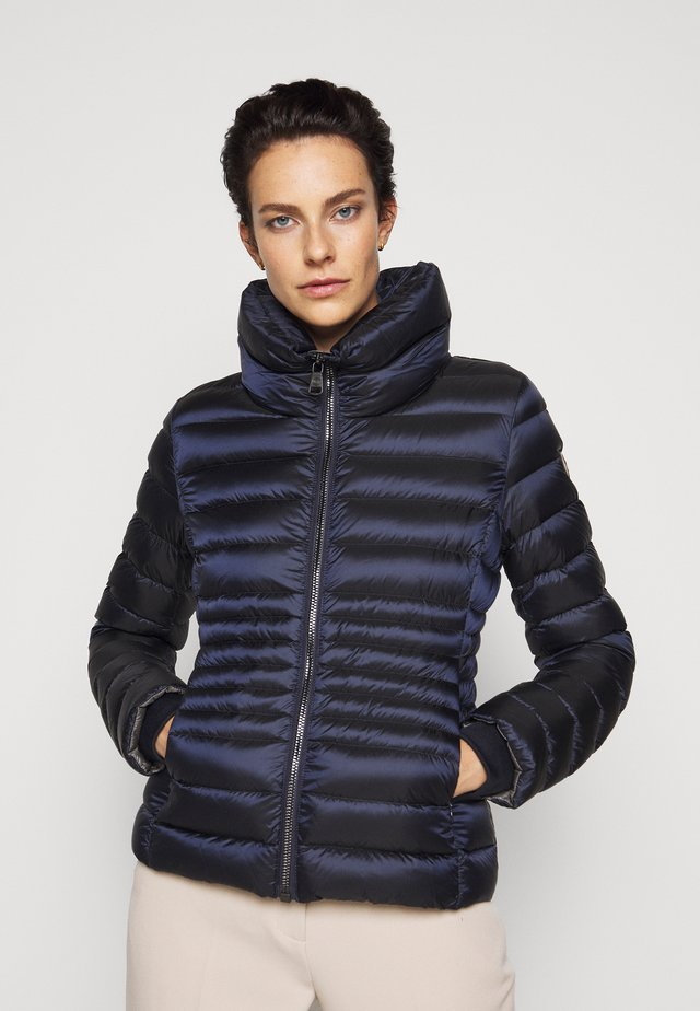 LADIES JACKET - Gewatteerde jas - navy blue/dark steel