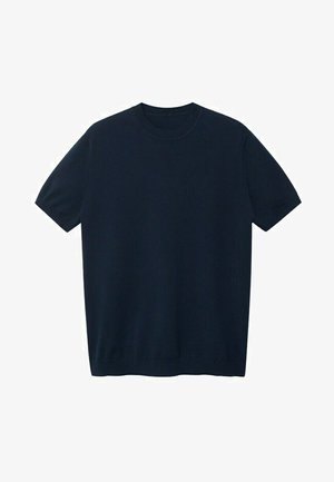TECHNOC - T-shirt basic - marineblauw