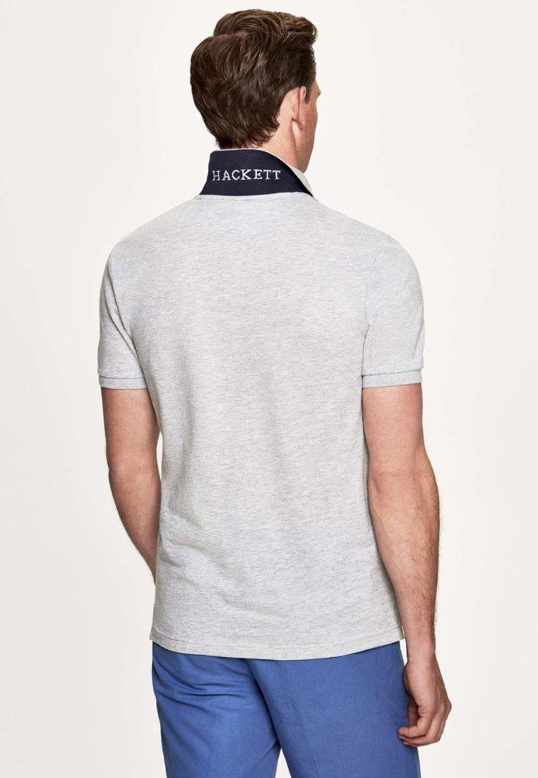 Hackett London Poloshirt - light grey/hellgrau KH9e77